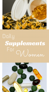daily supplements for women health fitness