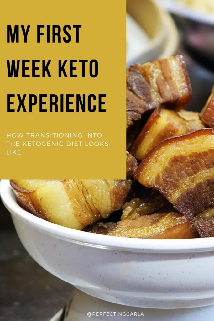 first week keto experience