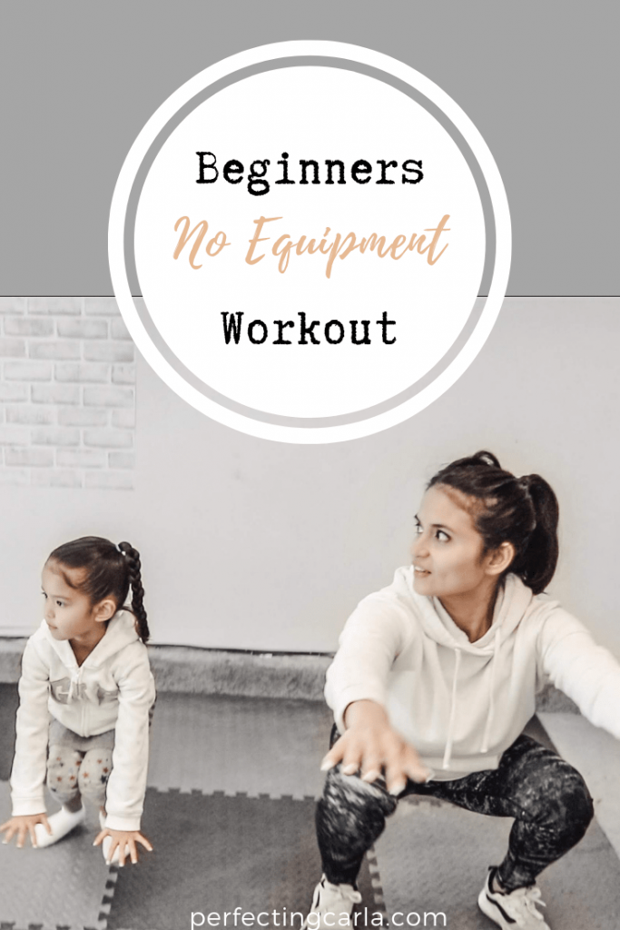 beginners no equipment workout